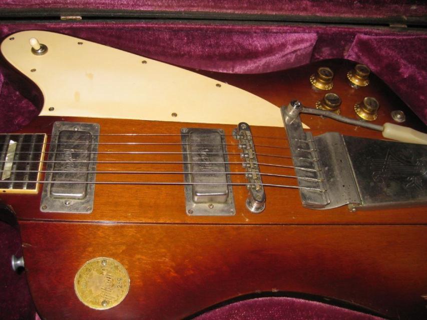 Vintage Gibson Firebird Pickups Bicentennial Medallion