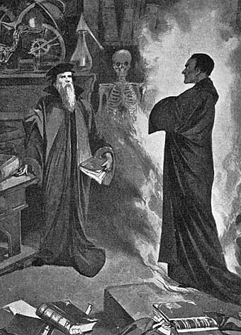 an overview of the legend of faust in germany Goethe took the faust legend like so many others but he alone saw the typical,   and the political convulsions which disturbed germany for ten years thereafter,.