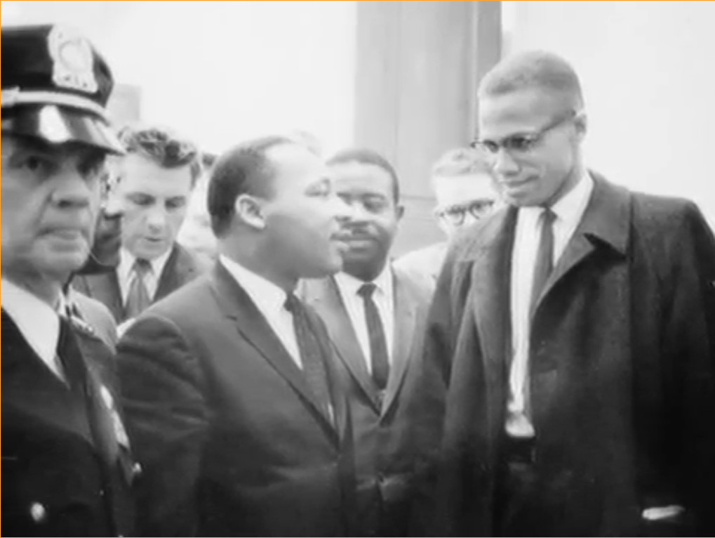 malcolm x vs dr king passive Christian love in the civil rights movement 137 king and malcolm x the black church and black theology played a passive role before the beginning of the.